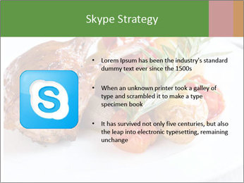 Meat with vegetables PowerPoint Templates - Slide 8