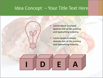 Meat with vegetables PowerPoint Template - Slide 80