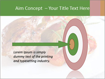 Meat with vegetables PowerPoint Template - Slide 83
