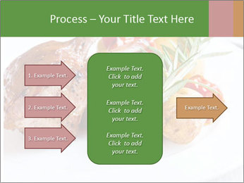 Meat with vegetables PowerPoint Templates - Slide 85