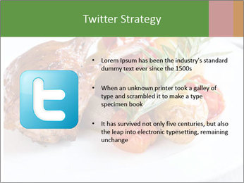 Meat with vegetables PowerPoint Templates - Slide 9