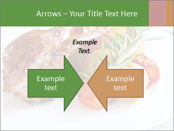Meat with vegetables PowerPoint Template - Slide 90