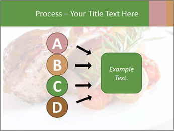 Meat with vegetables PowerPoint Template - Slide 94