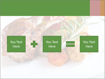 Meat with vegetables PowerPoint Templates - Slide 95