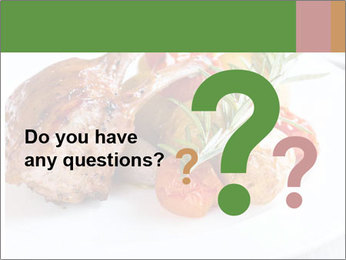 Meat with vegetables PowerPoint Templates - Slide 96