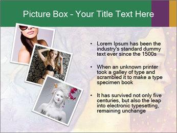 Portrait of women PowerPoint Template - Slide 17