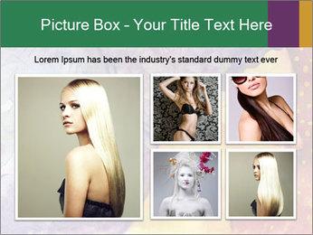 Portrait of women PowerPoint Template - Slide 19