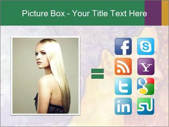 Portrait of women PowerPoint Template - Slide 21