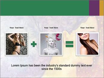 Portrait of women PowerPoint Template - Slide 22