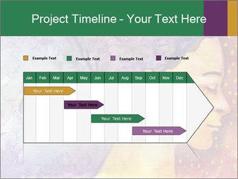 Portrait of women PowerPoint Template - Slide 25