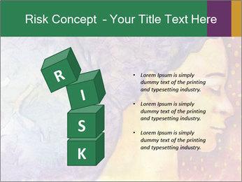 Portrait of women PowerPoint Template - Slide 81