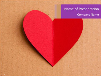 Valentine's day PowerPoint Templates - Slide 1