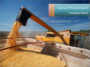 Farmland in Brazil PowerPoint Template - Slide 1