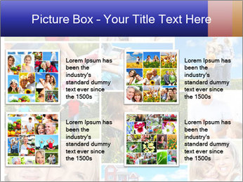 Happy family PowerPoint Template - Slide 14