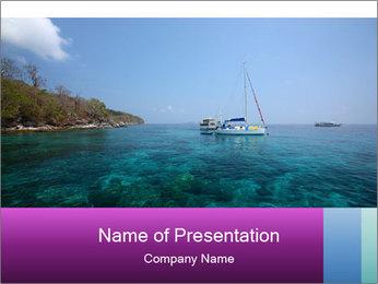 Boat trip PowerPoint Template - Slide 1