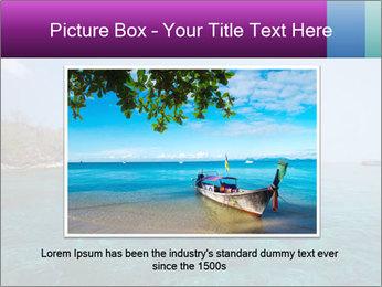 Boat trip PowerPoint Template - Slide 16