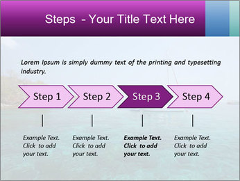 Boat trip PowerPoint Template - Slide 4