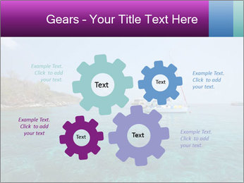 Boat trip PowerPoint Template - Slide 47