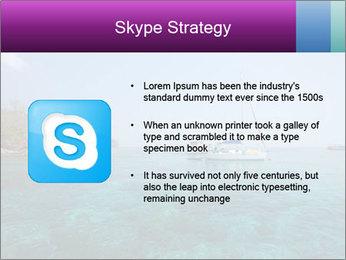 Boat trip PowerPoint Template - Slide 8