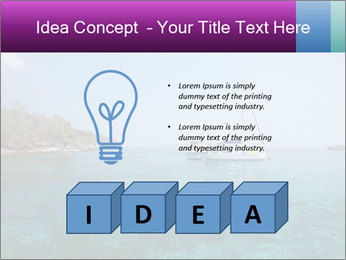 Boat trip PowerPoint Template - Slide 80