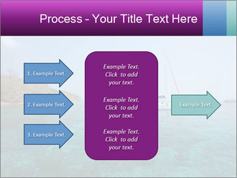 Boat trip PowerPoint Template - Slide 85