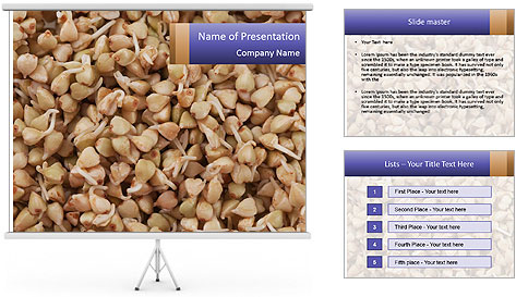 Buckwheat PowerPoint Template