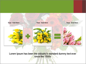 Beautiful gerberas and roses PowerPoint Templates - Slide 22