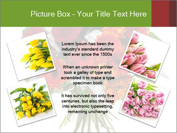 Beautiful gerberas and roses PowerPoint Templates - Slide 24