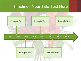 Beautiful gerberas and roses PowerPoint Templates - Slide 28