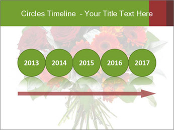 Beautiful gerberas and roses PowerPoint Templates - Slide 29