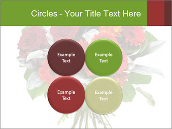 Beautiful gerberas and roses PowerPoint Templates - Slide 38