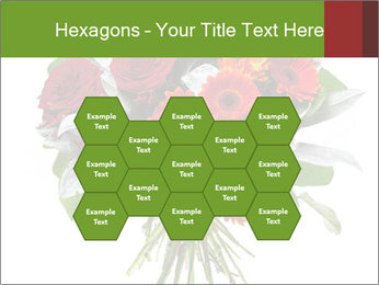 Beautiful gerberas and roses PowerPoint Templates - Slide 44