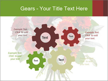 Beautiful gerberas and roses PowerPoint Templates - Slide 47