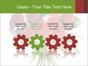Beautiful gerberas and roses PowerPoint Templates - Slide 48