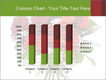Beautiful gerberas and roses PowerPoint Templates - Slide 50