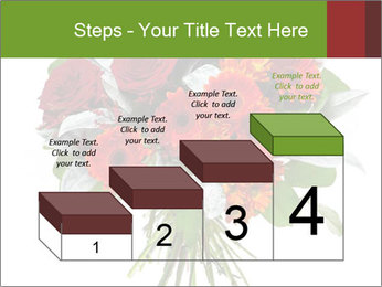 Beautiful gerberas and roses PowerPoint Templates - Slide 64