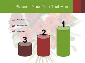 Beautiful gerberas and roses PowerPoint Templates - Slide 65