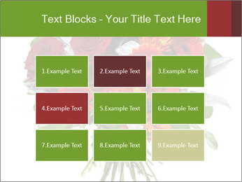 Beautiful gerberas and roses PowerPoint Templates - Slide 68