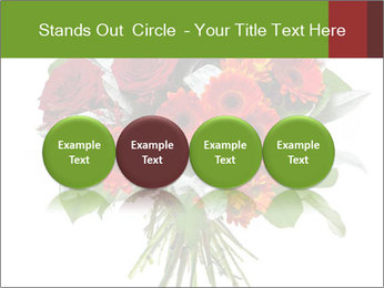 Beautiful gerberas and roses PowerPoint Templates - Slide 76