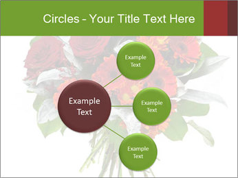 Beautiful gerberas and roses PowerPoint Templates - Slide 79