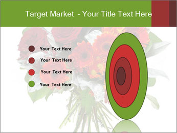 Beautiful gerberas and roses PowerPoint Templates - Slide 84