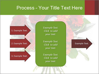 Beautiful gerberas and roses PowerPoint Templates - Slide 85