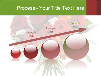 Beautiful gerberas and roses PowerPoint Templates - Slide 87