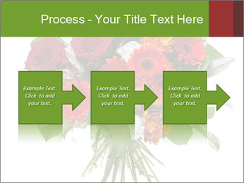Beautiful gerberas and roses PowerPoint Templates - Slide 88