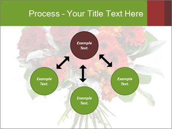 Beautiful gerberas and roses PowerPoint Templates - Slide 91