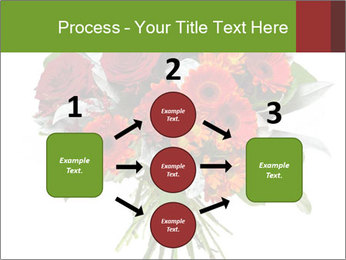 Beautiful gerberas and roses PowerPoint Templates - Slide 92