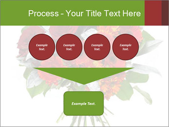 Beautiful gerberas and roses PowerPoint Templates - Slide 93
