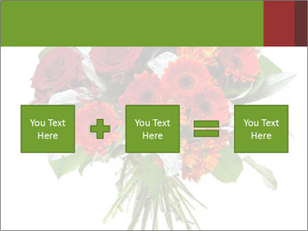 Beautiful gerberas and roses PowerPoint Templates - Slide 95