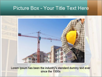Worker discussing issues at the construction site PowerPoint Template - Slide 16
