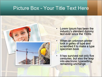 Worker discussing issues at the construction site PowerPoint Template - Slide 20